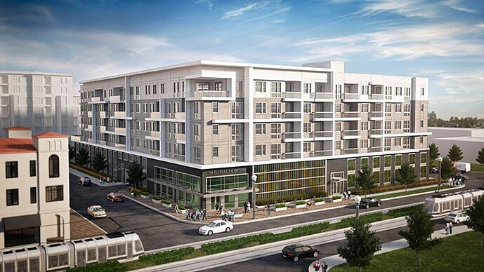 The Isabella at Midtown - exterior rendering