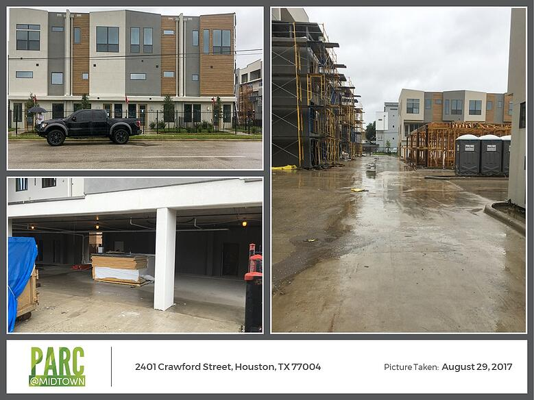 Hurricane Harvey Images: Parc at Midtown