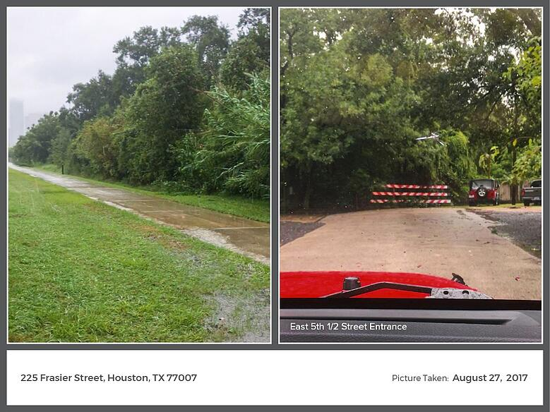 Hurricane Harvey Images: Frasier Street