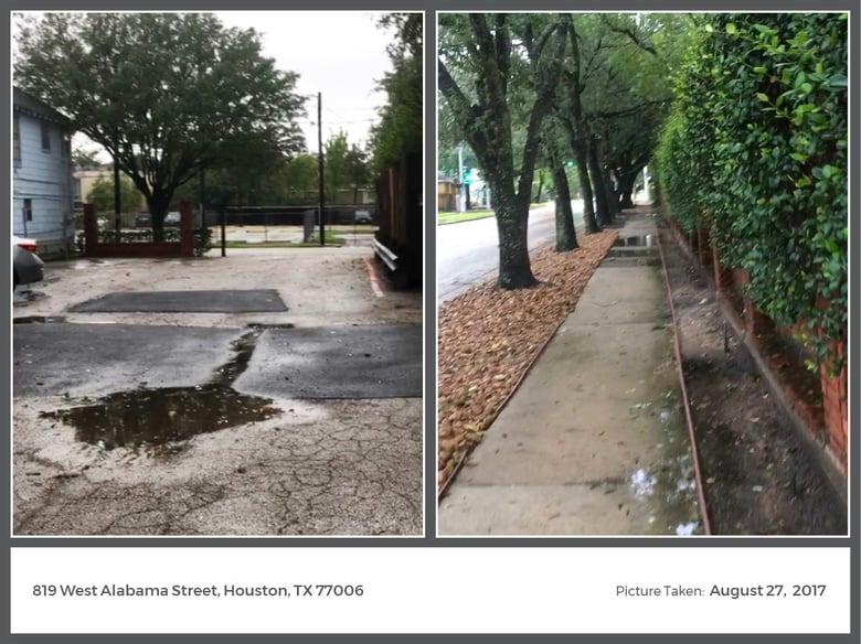 Hurricane Harvey Images: West Alabama Street