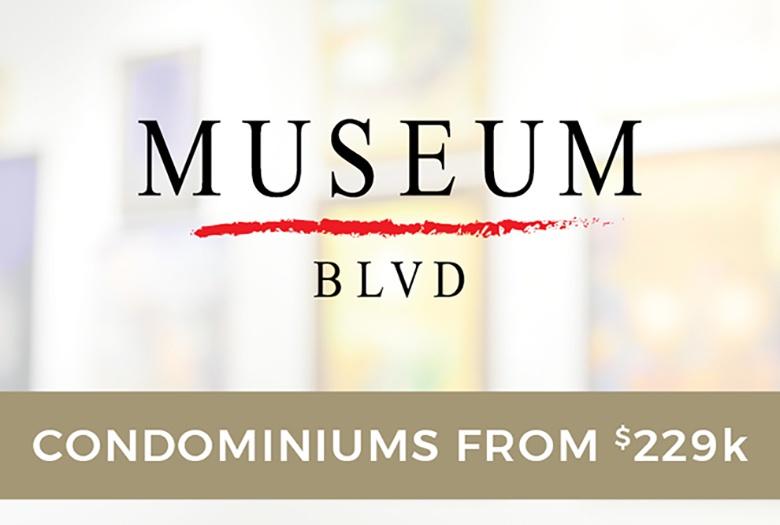 Museum BLVD: Condominiums from $229k