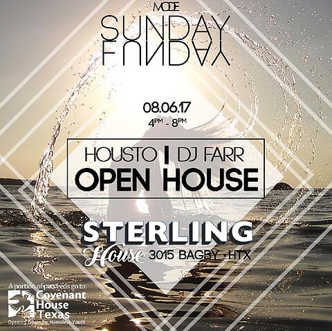 Housto - Sunday Funday at Sterling House