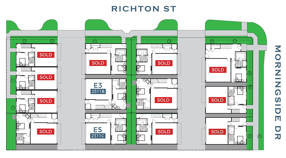 Upper Richton site map