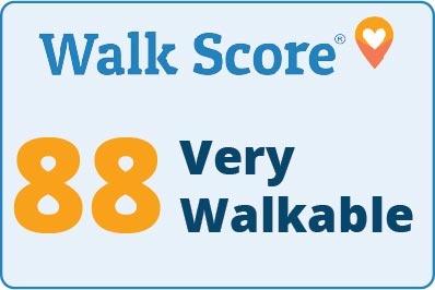 WalkScore 88