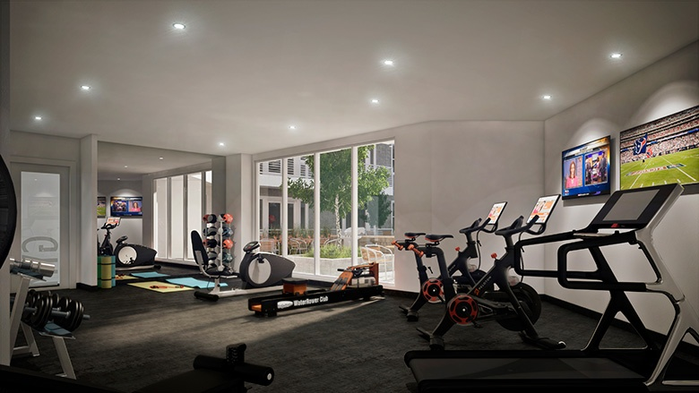 The Isabella at Midtown - Fitness Center