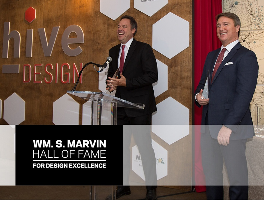 Surge Homes® Inducted into the Marvin Hall of Fame for Design Excellence
