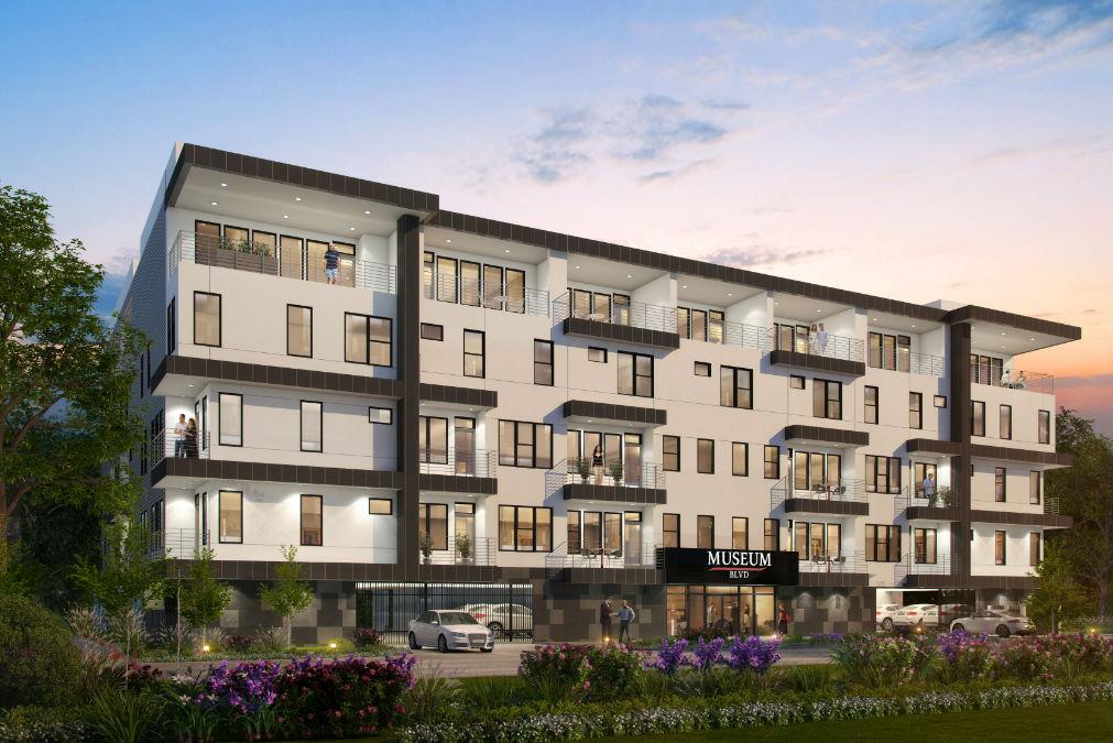 Museum BLVD - New Houston condominium project