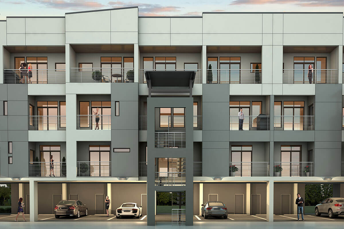 Parc at Midtown - Hadley Building Townhomes for sale in Houston
