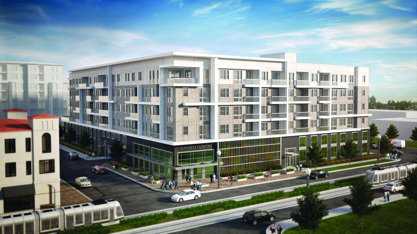 Exterior Rendering of The Isabella @ Midtown