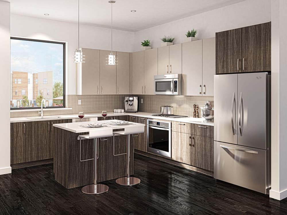 Parc at Midtown - Kitchen
