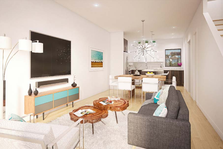 Parc at Midtown - Sky Townhome