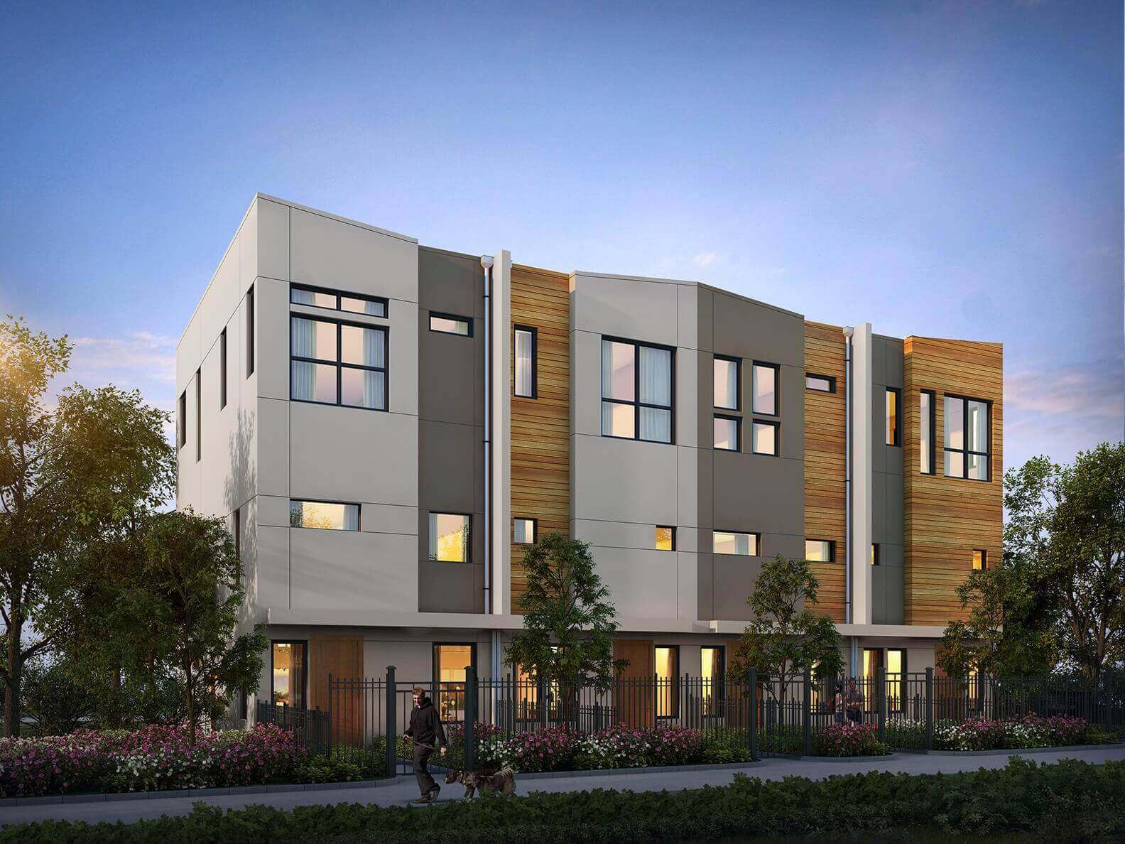 Parc at Midtown - Townhomes (front)