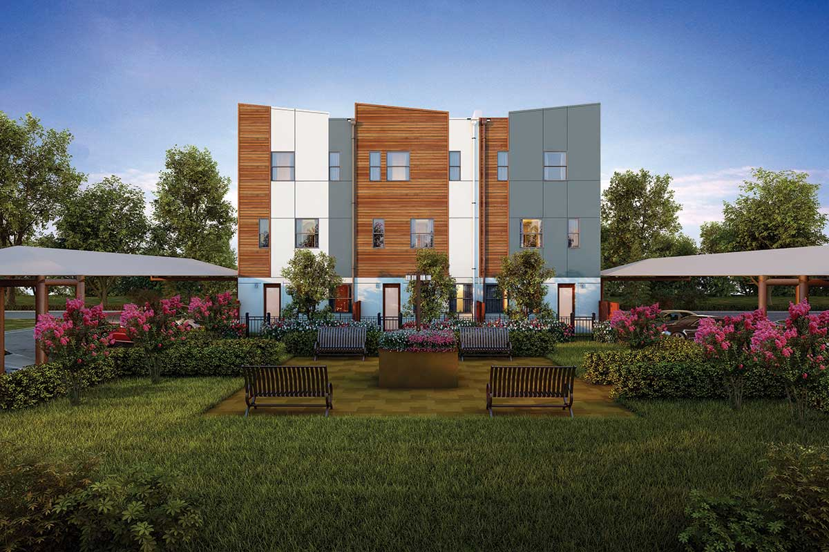 Parc at Midtown - Townhomes on the Park