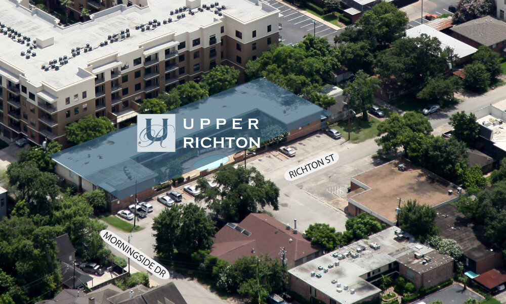 OLD - Upper Richton - Luxury Townhomes Project Aerial View